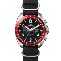 Shinola44mm Rambler Tachymeter Watch, Black