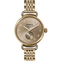 ShinolaThe Canfield Bracelet Strap Watch, Golden