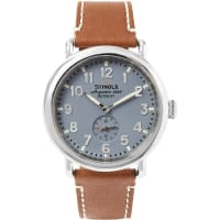 ShinolaThe Runwell 41mm Stainless Steel And Leather Watch - Brown