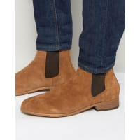 Shoe The BearShoe The Bear Suede Chelsea Boots - Tan