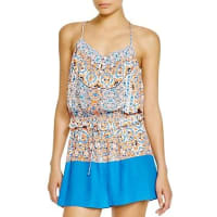 ShoshannaBoho Medallion Romper Swim Cover-Up