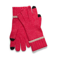SimonsContrasting trim touch sensitive gloves