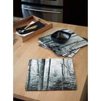 Simons MaisonBoreal forest laminated cork place mats Set of 4