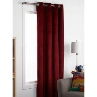 Simons MaisonColourful velvet curtain 140 x 220 cm
