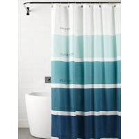 Simons MaisonShades of blue shower curtain