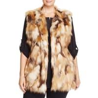 Sioni PlusLong Faux Fur Vest