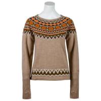 SkhoopWs Nordic Sweater Kakhi Klättertröjor