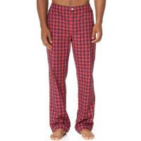 Sleepy JonesMarcel Washed Plaid Pajama Pants - Red/Navy
