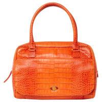 SmythsonPre-Owned - Orange Leather Handbag