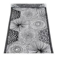 SolhemRUUT linne/bomull löpare svart vit, Lapuan Kankurit