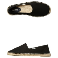 SoludosOriginal Dali Mens Espadrille Shoe Black