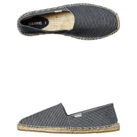 SoludosOriginal Stripe Mens Espadrille Shoe Blue