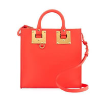 Sophie HulmeAlbion Square Tote Bag, Coral Red