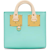 Sophie HulmeSSENSE Exclusive Blue and Pink Albion Box Tote