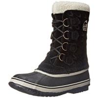 Sorel1964 PAC GRAPHIC 15 - Botas de nieve de cuero mujer, color negro