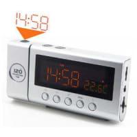 SoundmasterProjection Clock Radio And Sensor
