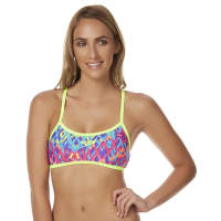 SpeedoKissed By Rainbow Crossback Separate Top