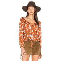 Spell & The Gypsy CollectiveGypsy Dancer Top in Orange