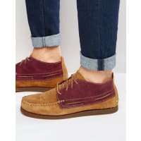 Sperry Top-SiderWedge Suede Boat Boots - Brown
