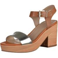 SPMHigh Heel Sandalette silber