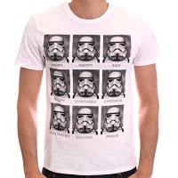Star WarsHerren T-Shirt Trooper Emotions