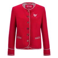 SteinbockWalk-Jacke aus 100% Schurwolle Steinbock rot