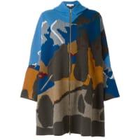 Stella McCartneyCapa com capuz de tricot
