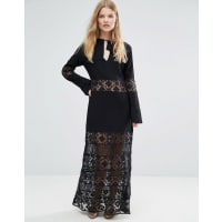 Stevie MaySan Antonio Maxi Dress - Black