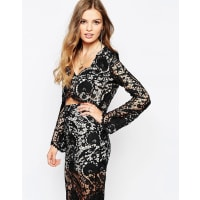 Stone_Cold_FoxCharlie Blouse in Black Lace - Black