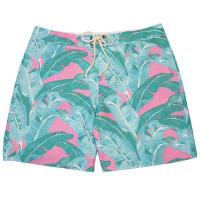 Strong BoaltBanana Leaf Swim TrunkGreen And Pink - Large