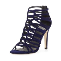 Stuart WeitzmanLoops Strappy Cage Sandal, Ink