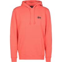 StüssyBasic sweat à capuche orange rose