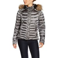Sud ExpressValmyl, Manteau Imperméable Femme, Gris (Dark Gris 2 Tons), FR: 36 (Taille Fabricant: S)