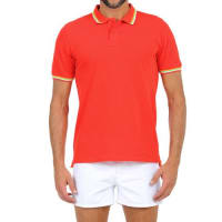 Sundekpique cotton polo shirt