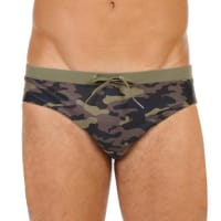 Sundekcamouflage swim brief