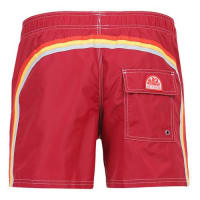 Sundekelastic waist mid-length board shorts