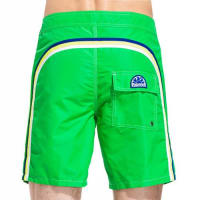 Sundekfixed waistband long swim shorts