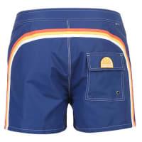 Sundekfixed waistband mid-length board shorts