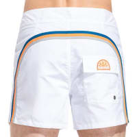 Sundekfixed waistband mid-length swim shorts