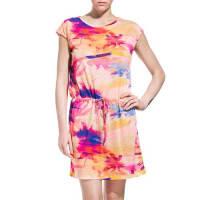 Sundektracy dress with miami dream print