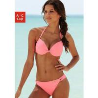 SunseekerDamen sunseeker Push-up-Bikini rose Cup A Eingearbeitete Verstärkung