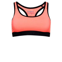 SuperdryCORE GYM SportBH fluro coral grit