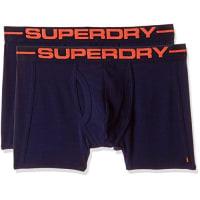 SuperdryHerren Boxershorts Sport Boxer Double Pack