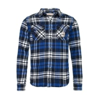 SuperdryMILLED FLANNEL Casual overhemd suncoast check cobalt