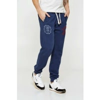 SuperdryPantalon De Jogging Superdry Core Applique Jogger Marine Homme