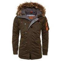 SuperdryParka dark army