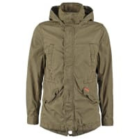 SuperdryROOKIE Parka deepest army