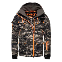 SuperdryULTIMATE SNOW SERVICE Skijacke black ice camo