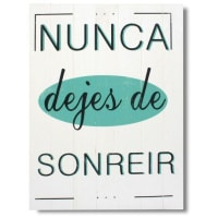 SuperStudioCPHWooden Canvas Print Sonreír 45X60 1.4 Kg