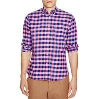 Surfside SupplySummer Check Regular Fit Button-Down Shirt